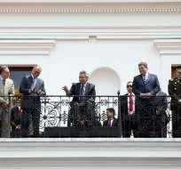 """Moreno expresó en su cuenta de Twitter que """"el diálogo empieza a dar frutos"""" tras reuniones con diferentes movimientos sociales. Foto: Flickr Presidencia."""
