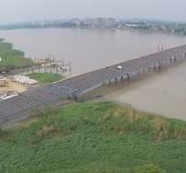 La fecha prevista para la entrega del puente Guayaquil - Samborondón es enero del 2018. Foto: Ecuavisa