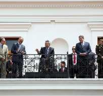 Tal cual había anunciado antes, el presidente Moreno designó al Vicepresidente Glas al frente del Consejo de la Producción. Foto: Flickr Presidencia