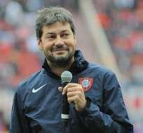 El presidente de San Lorenzo, Matías Lammens, habló de Emelec, rival del 'Cuervo' en la Libertadores.