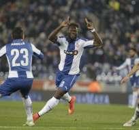El ecuatoriano Felipe Caicedo ya tiene su reemplazo en el Espanyol, donde no tiene espacio.