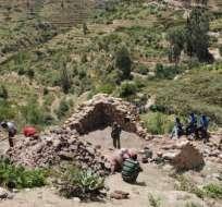 En la imagen se ven los restos de una mezquita del siglo XII.