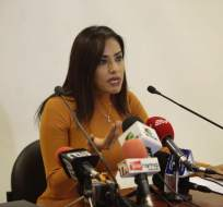 QUITO, Ecuador.- La legisladora de oposición pide estar en la Comisión de Fiscalización, ante la que acudirá el vicepresidente Glas. Foto: API