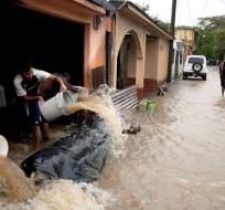 CIUDAD DE GUATEMALA, Guatemala.- En 2015, las lluvias causaron al menos 290 muertos y unos 700,000 damnificados. Foto: Tomado de El Nuevo Diario.
