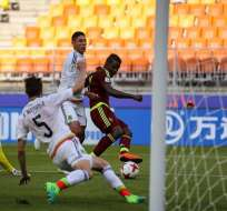 El gol del venezolano Sergio Córdova a México fue declarado como el mejor del Mundial Sub 20.