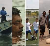 """Estas son algunas imágenes de la muestra audiovisual """"Identidad, retrato en documentales"""". Foto: Referencial"""
