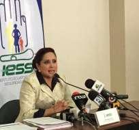 QUITO, Ecuador.- Según Geovanna León, directora de la institución, se hizo un ejercicio contable para reflejar valores reales. Foto: API