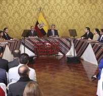 QUITO, Ecuador.- El Consejo tiene un comité, integrado por 7 miembros del Ejecutivo y 6 del sector privado. Foto: API