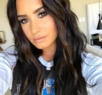 No es la primera vez que Demi Lovato muestra toda su sensualidad en las redes sociales. Foto: @ddlovato