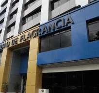 QUITO, Ecuador.- La audiencia de formulación de cargos se desarrolló hasta altas horas de la noche del 22 de junio de 2017 en la Unidad de Flagrancia de Quito. Foto: Archivo
