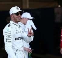 El británico Lewis Hamilton obtuvo la 'pole position' en el Gran Premio de Azerbaiyán.
