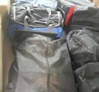 la droga iba a ser transportada en avioneta hacia Guatemala. Foto: Redes