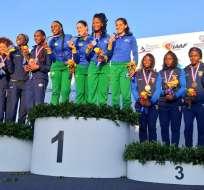 El equipo ecuatoriano de Atletismo obtuvo nueve medallas en su participación en el Sudamericano de Paraguay.