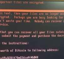 Varios reportes sugieren que ordenadores alrededor del mundo están mostrando este mensaje, indicando que hay un ataque de ransomware.