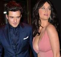 Katy Perry y Orlando Bloom rompieron su relación en marzo de este año. Foto: Agencias