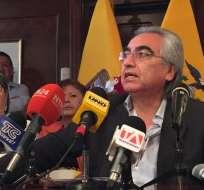 QUITO, Ecuador.- Gustavo Baroja aclaró que la administración anterior recibió la propuesta de Odebrecht. Foto: API