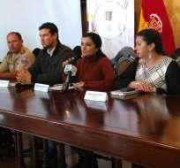 La autoridad Rosana Alvarado mantendrá diálogos para analizar soluciones al microtráfico.