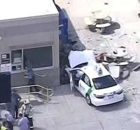El episodio se registó cerca del aeropuerto Logan. Los medios locales reportan heridos. Foto: redes