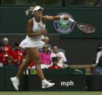 La número uno del mundo se impuso por dos sets a Irina Falconi, nacida en Portoviejo.