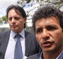 QUITO, Ecuador.- La defensa anunció que el 12 de julio se revisará la acción de sustitución de la prisión preventiva que pesa en contra de Jiménez (d) y Villavicencio. Foto: Archivo