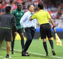 El colombiano Juan Carlos Osorio fue sancionado con seis partidos de suspensión.