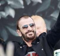 """NUEVA YORK, EE.UU.- Ringo Starr desveló este viernes su melodía """"Give More Love"""" (Dame más amor). Foto: AFP."""