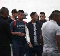 Los jugadores del primer plantel de Clan Juvenil no pudieron ingresar al estadio Rodrigo Paz Delgado en Quito.