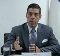 QUITO, Ecuador.- El ministro Raúl Ledesma anunció que entregará la propuesta al Ejecutivo en los próximos 45 días. Foto: API