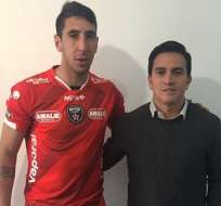 Diego Dorregaray es el nuevo refuerzo de River Ecuador para la segunda etapa del campeonato.
