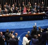 Respaldada por los mercados, esta ley es rechazada por un 58% de los brasileños, según encuesta. Foto: AFP