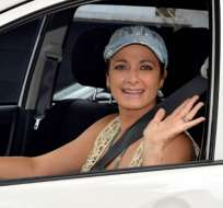 La actriz mexicana toma con humor su nueva faceta laboral. Foto: Twitter @diariobasta