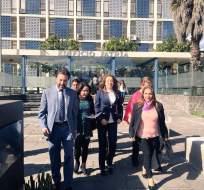 El bloque oficialista pide que se investigue los textos entregados por Ana Galarza. Foto: Twitter Soledad Buendía.