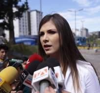 QUITO, Ecuador.- Según la legisladora de CREO, Ana Galarza, el exmandatario sabía de los movimientos de Alecksey Mosquera. Foto: API
