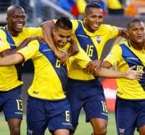 Enner Valencia, Cristhian Noboa, Antonio Valencia y Fernando Guerrero militan en clubes del exterior.
