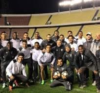 El plantel de Liga de Quito efectuó su último entrenamiento un día antes del partido ante Bolívar.