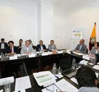 GUAYAQUIL, Ecuador.- Según la Senplades, el plan priorizará la inversión extranjera, nacional y de los GADs. Foto: Vicepresidencia de la República
