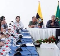 ORELLANA, Ecuador.- El mandatario anunció creación de Subsecretaría Familiar y Campesina y viaje a Nicaragua. Foto: Secom