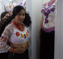 ECUADOR.- Los indígenas, según sus organizaciones, representan un 30% de los 16,5 millones de ecuatorianos. Foto: AFP