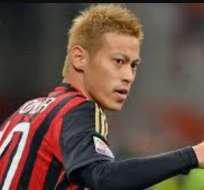 El japonés Keisuke Honda es nuevo jugador del Pachuca mexicano, llega procedente del Milan.