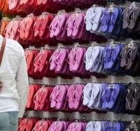Hoy día se producen Havaianas de todos los colores y se venden en diferentes rincones del mundo.