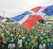 R. DOMINICANA.- El movimiento Marcha Verde pide que se investigue al presidente Danilo Medina y a dos exmandatarios por el caso Odebrecht. Foto: AP