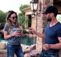 De acuerdo con mensajes divulgados en la red, la mexicana habría roto con Criss Angel. Foto: Tomado de Univisión.