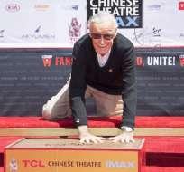 """""""He sido el hombre más afortunado del mundo"""", manifestó el artista de 94 años. Foto: AFP"""