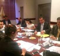 QUITO, Ecuador.- Según el presidente de la Asamblea, las pruebas presentadas no cumplen con requisitos. Foto: Twitter Verónica Arias