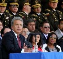 QUITO, Ecuador.- El primer mandatario ratificó que existirá diálogo permanente con la institución. Foto: Presidencia de la República