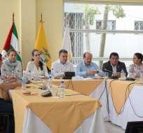 MANABÍ, Ecuador.- Este organismo de la Asamblea Nacional también anunció reformas al COIP, entre otros proyectos. Foto: Twitter Asamblea Nacional