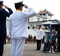 Este martes 25 de julio se conmemoró el Día Nacional de la Armada. Foto: @35PAIS