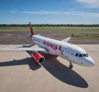VENEZUELA.- La compañía aérea suspendió la venta de boletos para vuelos con Perú y Colombia. Foto: Twitter Avianca
