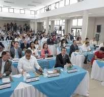 """GUAYAQUIL, Ecuador.- La comisión se llama """"Aampetra, nunca más"""", en alusión al plantel donde hubo abusos sexuales. Foto: Asamblea Nacional"""
