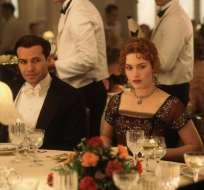 Leonardo DiCaprio, Kate Winslet y Billy Zane fueron parte de una gala en Francia. Foto: Archivo